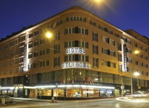 hotel v Praze